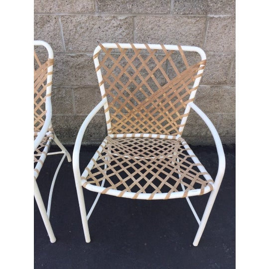 1960s Vintage Brown Jordan Sculptural Tamiami Patio Chairs - a Pair For Sale - Image 5 of 8