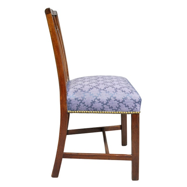 Wood Federal Mahogany Side Chairs - Set of 4 For Sale - Image 7 of 10