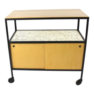 Mid Century Modern Bar Cart/Server For Sale