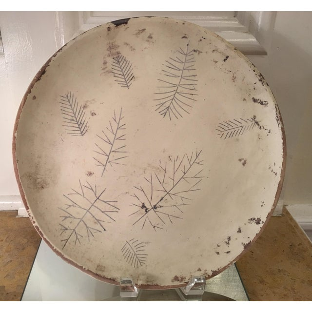 This wonderful plate is a genuine original work of art by Sascha Brastoff. It is an exquisite one of a kind example and...