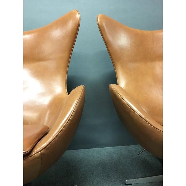 Arne Jacobsen for Fritz Hansen Egg Chairs - A Pair - Image 9 of 9