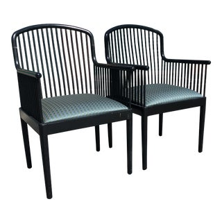 "1980s Knoll ""Exeter"" Chairs by Davis Allen - a Pair For Sale"