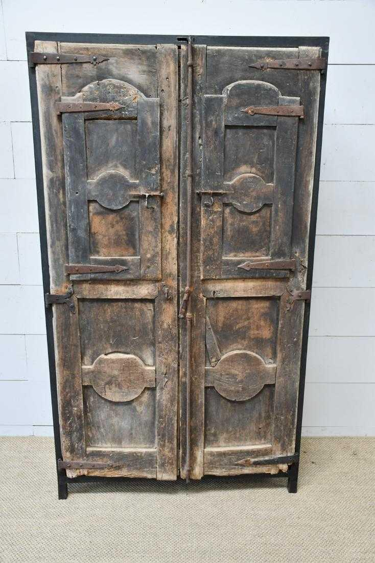 Custom Modern Organic Cabinet Designed With 18th Century French