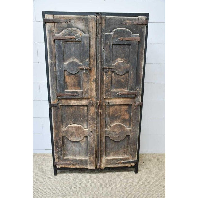Custom Modern Organic Cabinet Designed With 18th Century French
