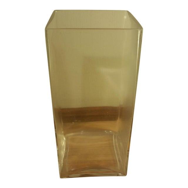 Rectangular Glass Vase - Image 1 of 5