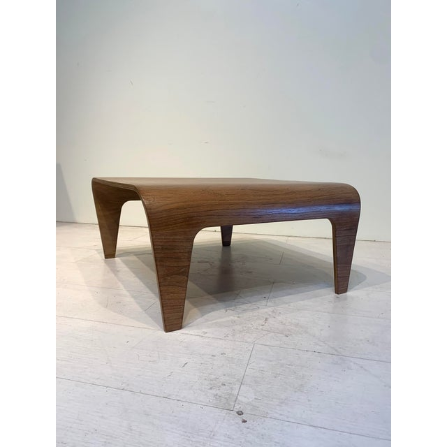Tan Mid-Century Marcel Breuer for Isokon Design Low Side Table For Sale - Image 8 of 11
