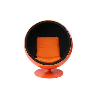 Eero Aarnio Orange Ball Chair For Sale