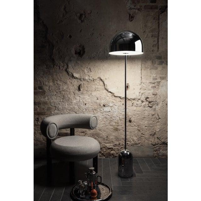 Metal Tom Dixon Fat Lounge Chair Mollie Melton Black For Sale - Image 7 of 9
