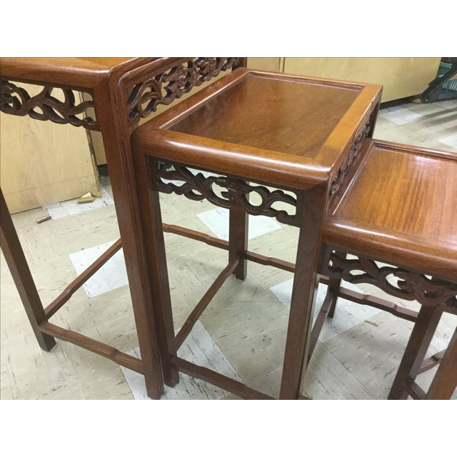 George Zee Hong Kong Nesting Tables - Set of 4 - Image 3 of 5