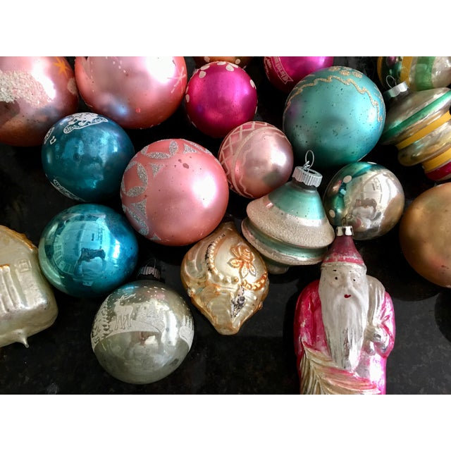 Vintage Assorted Glass Ornaments - Set of 28 - Image 2 of 6