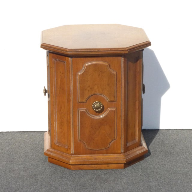 1960s Mid-Century Modern Drexel Heritage End Table For Sale - Image 9 of 9