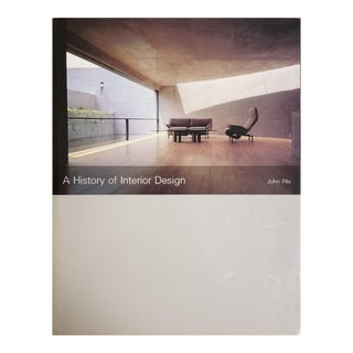 A History of Interior Design by John Pile For Sale