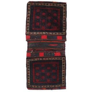 "Pasargad Ny Antique Persian Shiraz Saddlebag Rug - 2'1"" X 4'10"" For Sale"