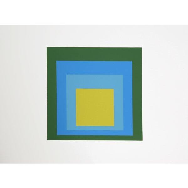 Modern Josef Albers - Portfolio 1, Folder 5, Image 2 Framed Silkscreen For Sale - Image 3 of 4