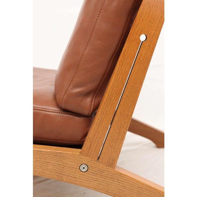 Pair of Hans Wegner GE-375 Lounge Chairs - Image 7 of 10