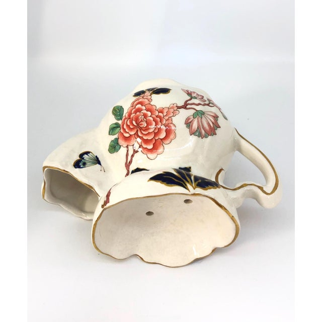 Ivory Vintage Chinese Rose Old Foley James Kent Staffordshire For Sale - Image 8 of 12