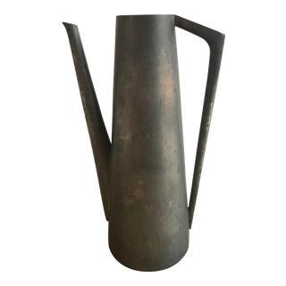 Kmd Tiel Pewter Pitcher/Vase For Sale