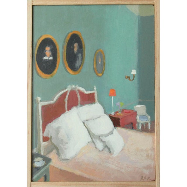 2010s Edith Wharton's Bedroom by Anne Carrozza Remick For Sale - Image 5 of 6