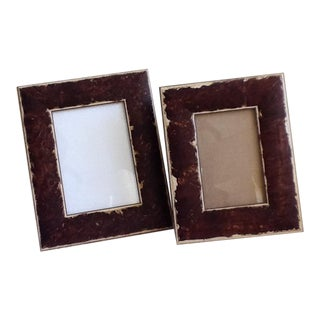 Rustic Wood Picture Frames - A Pair