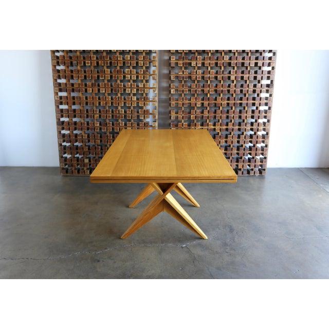 Dan Johnson 1940s Dan Johnson Dining Table For Sale - Image 4 of 10