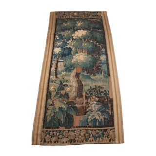 Belgian 18th Century Tapestry Panel For Sale