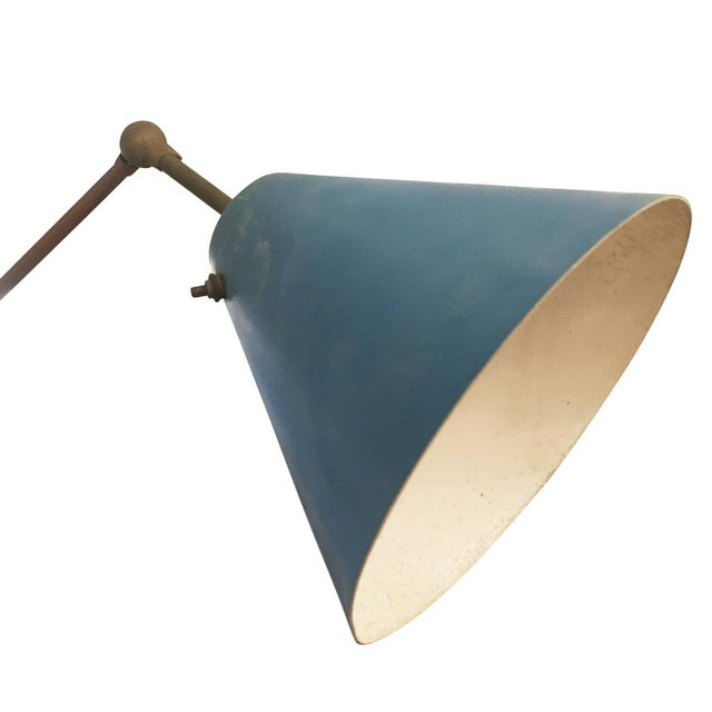 Mid-Century Modern Triennale Floor Lamp by Angelo Lelli for Arredoluce, Marked, 1947 For Sale - Image 3 of 7