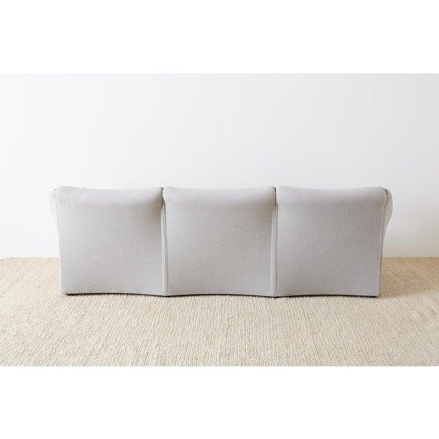 Mario Bellini for Cassina Tentazione Upholstered Sofa For Sale - Image 12 of 13