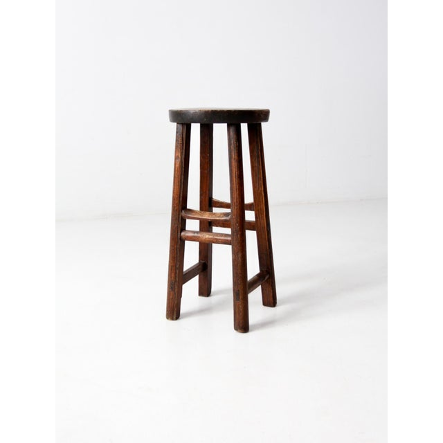 Asian Antique Chinese Stool For Sale - Image 3 of 11