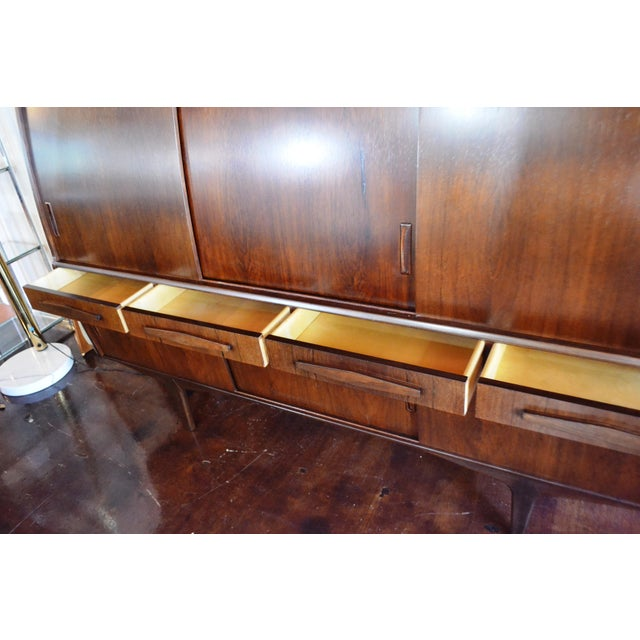 Poul Jensen Danish Modern Rosewood Credenza by Poul M Jessen for Pmj Viby For Sale - Image 4 of 13