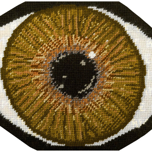 You're my brown-eyed girl. (That was too easy!) NOT NEEDLEPOINT Varying shades of brown intertwine with a touch of gold to...