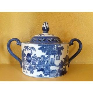 Blue & White Porcelain Potpouri Pot Preview