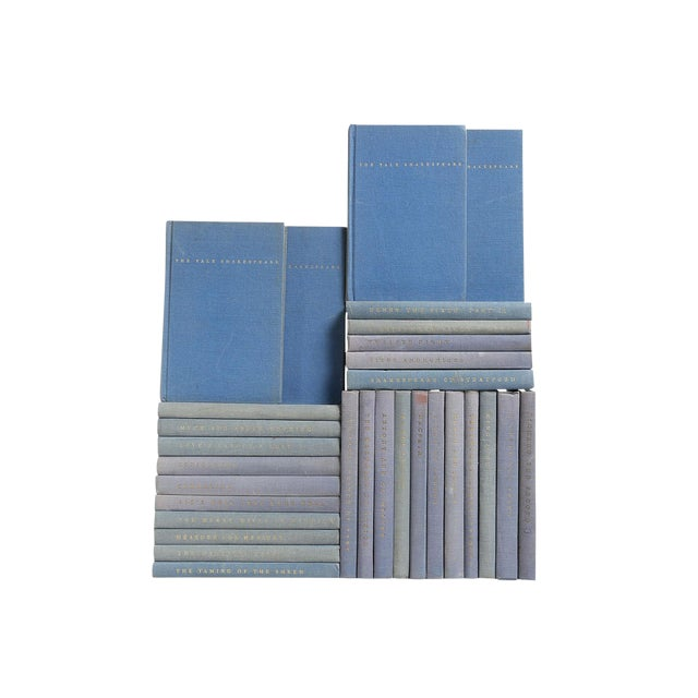 Blue Pocket-Sized Shakespeare Books - Set of 30 - Image 1 of 2