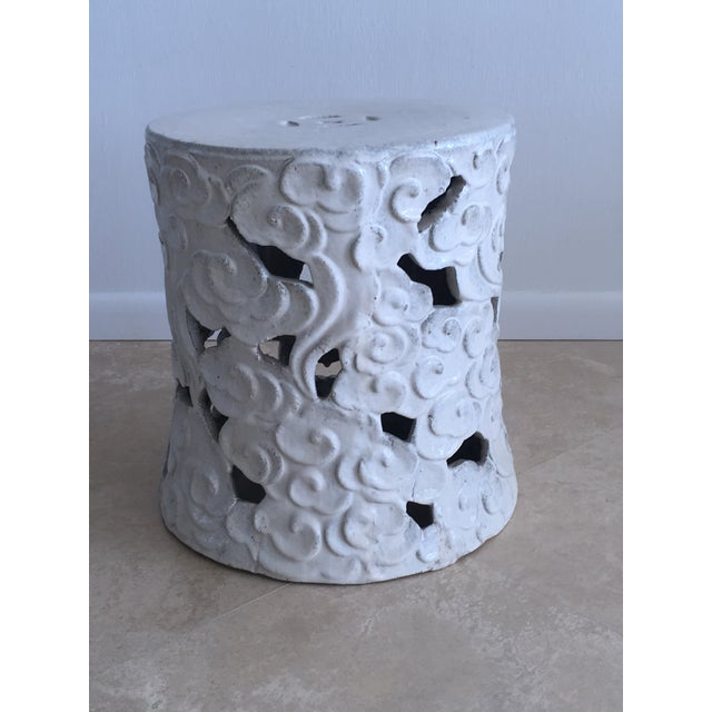 """Chinese """"Cloud"""" Garden Seat For Sale - Image 11 of 11"""