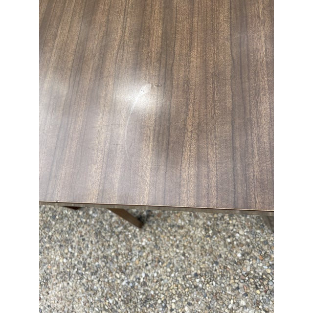 Thonet Mid Century Walnut End Tables - a Pair For Sale - Image 9 of 11