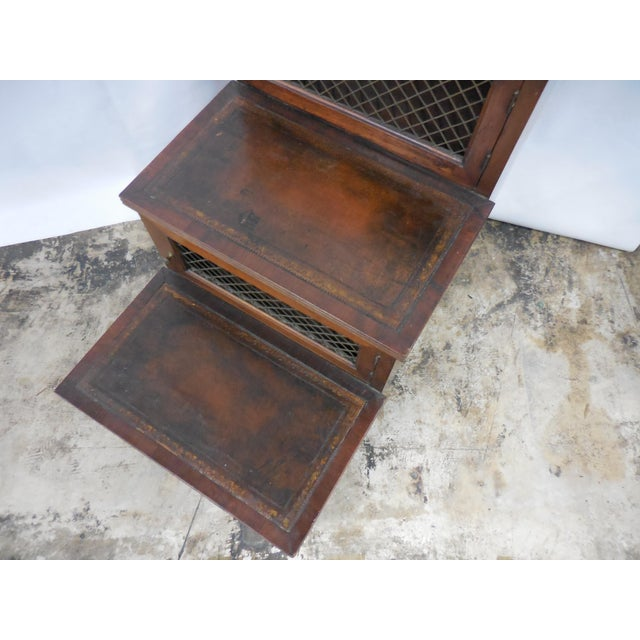 19th Century Mahogany Library Steps For Sale In West Palm - Image 6 of 8