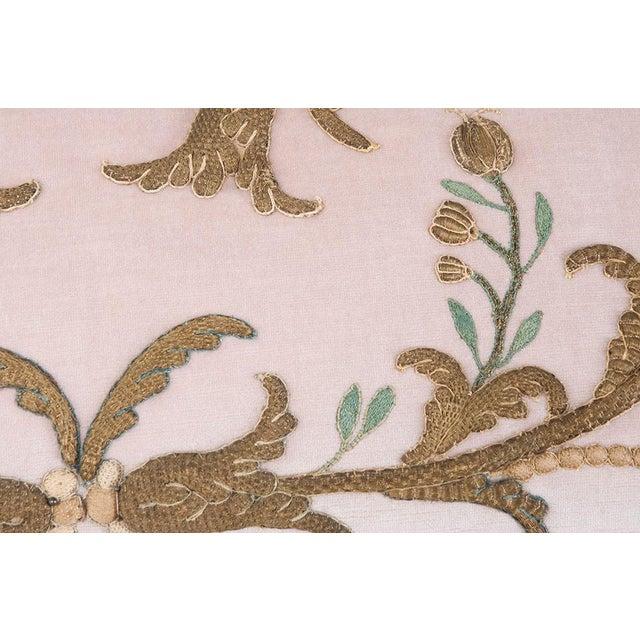 Antique Textile Pillow By B.Viz Designs - Image 2 of 7