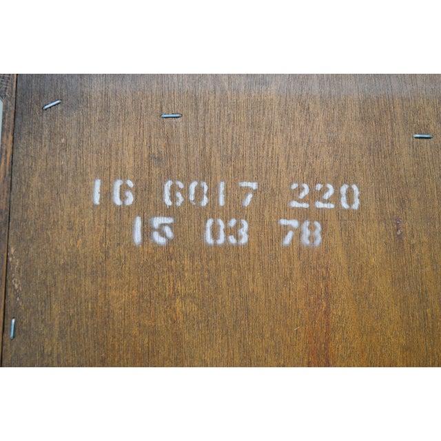 1980s Ethan Allen Royal Charter Oak Corner Cabinet For Sale - Image 5 of 13
