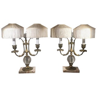 1910s Pairpoint Lamps - a Pair For Sale