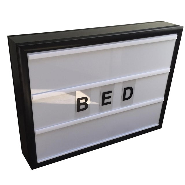 Bxxlght Lightbox with Marquee Letters - Image 1 of 7