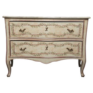 Louis XV Style Painted Commode For Sale