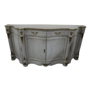 20th Century French Curved Sideboard