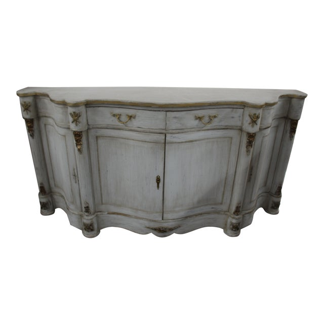 20th Century French Curved Sideboard For Sale