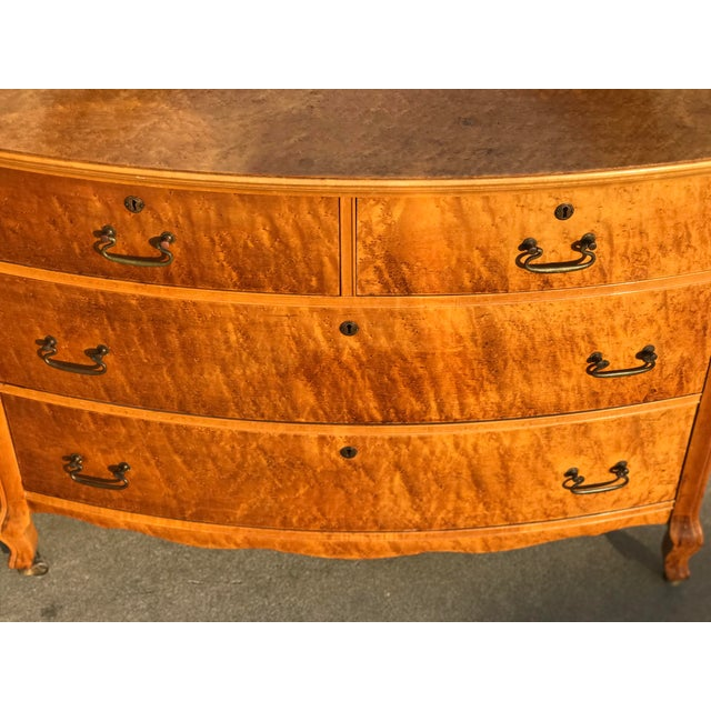 Late 19th Century Antique Birdseye, Birds Eye Maple Furniture