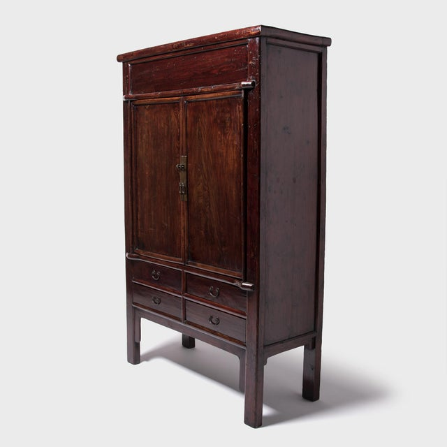 Asian 19th Century Chinese Grand Seven Drawer Cabinet For Sale - Image 3 of 10