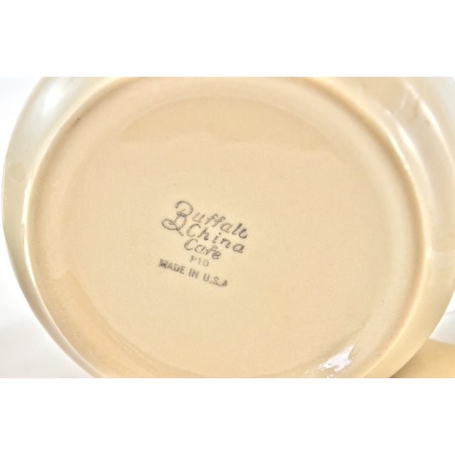 Bisque Cafe Ware Cream & Sugar For Sale In Chicago - Image 6 of 6