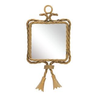 Twin Tassel Bevelled Mirror
