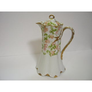 Limoges France Hand Decorated Chocolate/Cocoa Pot Preview