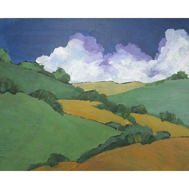 Paint Malibu Hills Impressionist California Plein Air Landscape For Sale - Image 7 of 7