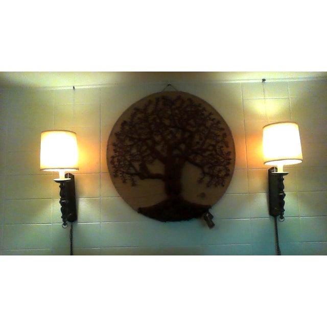 """Original """"Tree of Life"""" Fiber Art by Dan Freedman - Image 5 of 8"""