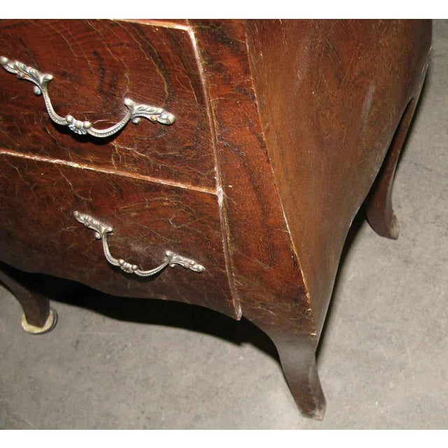 Empire Bed Side Tables - A Pair For Sale - Image 6 of 9